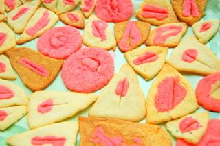 vulva-cookies