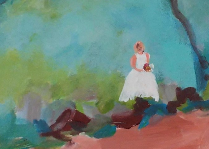 Bride in the Canyon (3)